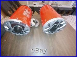 1200 Watt BOSS Boat Wakeboard Tower Speakers Metallic Red -SJS Dezign UTV RZR