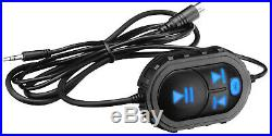 2 4 500 Watt Powered Marine Bluetooth Wakeboard Tower Speakers+Remote for Boss