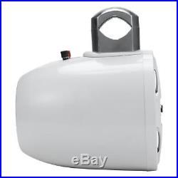 2 8'' Marine Wakeboard Speaker Water Resistant 4-Way Tower Speaker 1200 Watt