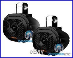 (2) Cadence Swb69b 6x9 2way Silk Tweeters Marine Wake Board Tower Speakers New