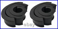 (2) JBL MS8LB 450 Watt 8 Black LED Wakeboard Tower Speakers For ATV/UTV/RZR