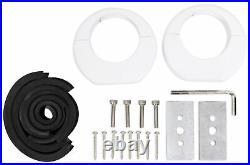 (2) JBL MS8LW 450 Watt 8 White Wakeboard Tower Speakers For Polaris RZR/UTV/ATV