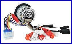 2 KICKER KMTC9 9 600w Black Wakeboard Tower Speakers+Bluetooth Receiver+Amp