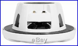 (2) Kenwood KFC-1653MRW 6.5 600w Marine Boat Wakeboard Tower Speakers White