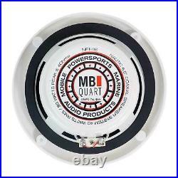 (2) MB QUART NF1-116 6.5 80 Watt Marine Wakeboard Tower Speakers For Boat