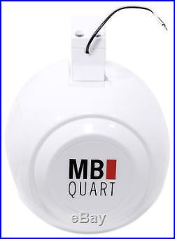 2 MB Quart NHT1-120W 8 Marine Wakeboard Tower Horn Speakers 4 RZR/ATV/UTV/Cart