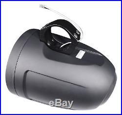 (2) MB Quart NT1-120LB 8 Marine Wakeboard Tower LED Speakers 4 RZR/ATV/UTV/Cart