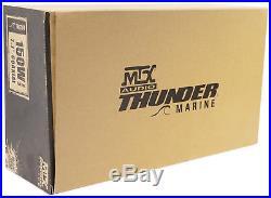 2 MTX Audio WET77-W 7.7 300 Watt Marine Wakeboard Tower Speakers+2-Ch Amp+Wires