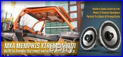 (2) Memphis Audio MXA60TB 6.5 150w Boat/Wakeboard Tower or UTV Speakers