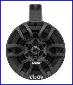 2 Pair of DS18 4 4 Ohm 600 Watts Marine Wakeboard Pod Tower Speakers NXL-4TP