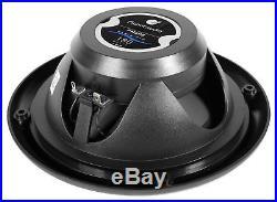 2 Planet Audio 6.5 180w Wakeboard Tower Speakers+Amp 4 Polaris RZR/ATV/UTV/Cart