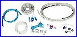 (2) Polk Audio 6x9+(2) 6.5 Marine Boat Wakeboard Tower Speakers+Amplifier+Kit