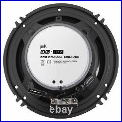 (2) Polk Audio DB652 Dual 6.5 300 Watt Marine Boat Wakeboard Tower Speakers