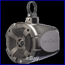 2 PowerBass XL-POD8SR 8 Marine Wakeboard Tower Speaker Can Pods 400 Watt 4-ohm