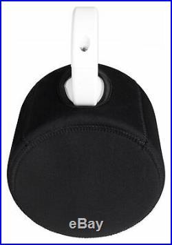 (2) Rockville 5.25 Black Marine Wakeboard Tower Speaker Pods+Waterproof Covers
