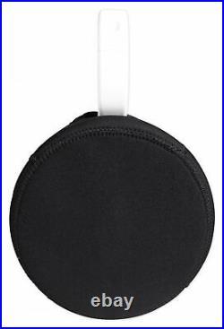 (2) Rockville 5.25 Silver Marine Wakeboard Tower Speaker Pods+Waterproof Covers