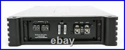 (2) Rockville DWB80W Dual 8 White 600w Marine Wakeboard Tower Speakers+Amp+Kit