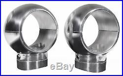 (2) Rockville MAC65S 6.5 360 Degree Swivel Marine Wakeboard Tower Speaker Pods