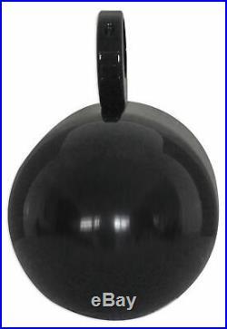 2 Rockville MAC80B 7.7 360° Swivel Black Aluminum Wakeboard Tower Speaker Pods