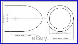 (2) Rockville MAC90S 8 360 Degree Swivel Marine Wakeboard Tower Speaker Pods