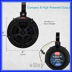 2 Way Dual Waterproof Off Road Speakers 4 800 Watt Marine Grade Wakeboard Tower