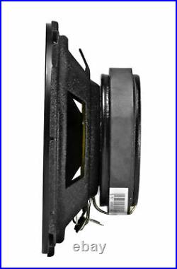 (2) kicker CSC54 5.25 360° Degree Swivel Chrome Wakeboard Tower Speakers
