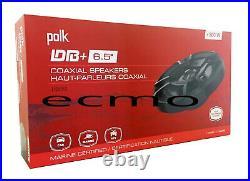 2 x Twin Polished Bullet Wakeboard Speaker Polk DB652 300W Marine Speaker