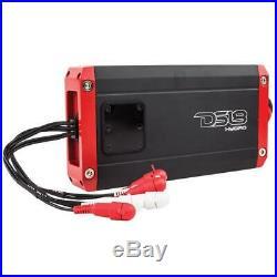 4 DS18 CF8TPB 8 Marine Wakeboard Tower Speaker Pod & NXL400.4D 4ch Amplifier