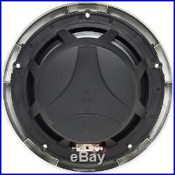 (4) JBL MS8LB 450w 8 Black Marine Boat Wakeboard Tower LED Speakers+5-ch. Amp