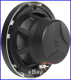 4 JBL MS8LB 8 Black Marine Boat Wakeboard Tower LED Speakers+Amp+10 Subwoofer