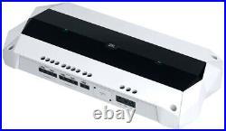 (4) JBL MS8W 450w 8 White Marine Boat Wakeboard Tower Speakers+5-ch. Amplifier