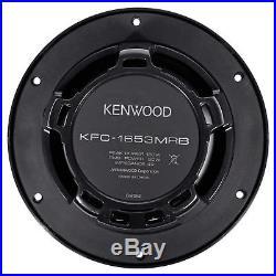 (4) Kenwood 6.5 600 Watt Wakeboard Tower Speakers For Polaris RZR/ATV/UTV/Cart