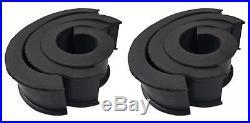 (4) Kenwood 6.5 600w Silver Wakeboard Tower Speakers 4 Polaris RZR/ATV/UTV/Cart