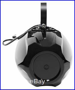 (4) MTX WET65T 6.5 600 Watt Marine Boat Wakeboard Tower Speakers Black