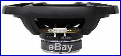 (4) Polk Audio 6x9 Marine Boat Wakeboard Tower Speakers+Alpine Amp+Receiver