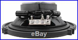 4 Polk Audio Marine Boat Wakeboard Tower Speakers+Alpine 4-Channel Amp+Receiver