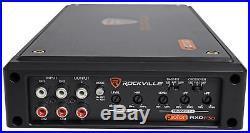 (4) Rockville 6.5 Wakeboard Tower Speakers+4-Channel Amplifier RZR/ATV/UTV/Cart