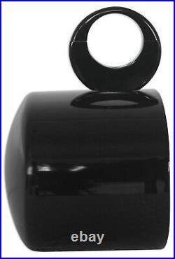 (4) Rockville MAC69B 6x9 Black Aluminum Wakeboard Tower Speaker Pods+Covers