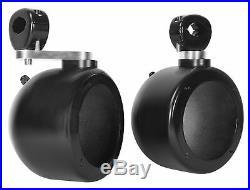 (4) Rockville MS40B 4 200 Watt Marine Wakeboard Tower Boat Speakers