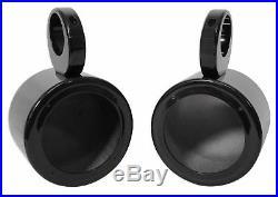 (4) Rockville MS525B 5.25 800 Watt Marine Boat Wakeboard Tower Speakers-Black