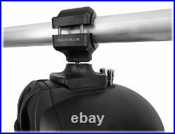 (4) Rockville RWB70B Black 6.5 250w Marine Wakeboard 360° Swivel Tower Speakers