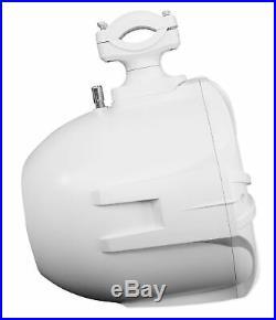 (4) Rockville RWB90W White 8 300w Marine Wakeboard 360° Swivel Tower Speakers