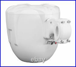 (4) Rockville RWB90W White 8 Marine Wakeboard Swivel Tower Speakers+Receiver