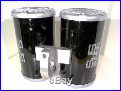 600 Watt Kenwood Black Gloss Glitter Flakes Marine Boat Wakeboard Tower Speakers