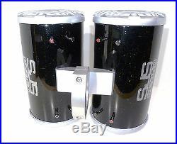 600 Watt Kenwood Marine Black Galaxy-Glitter Wakeboard Tower Speakers SJS Dezign