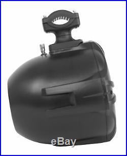 (6) Rockville RWB90B Black 8 300w Marine Wakeboard 360° Swivel Tower Speakers