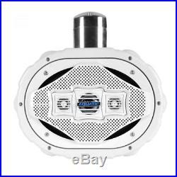 6 x 9 BT Marine Wakeboard Speaker, Water Resistant 4-Way Tower 1200 Watt