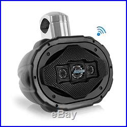 6'' x 9'' Bluetooth Wakeboard Speaker Marine Active Powered Tower Speaker
