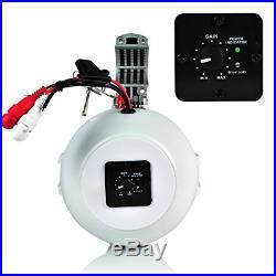 Bluetooth Marine Wakeboard Tower Speaker 6.5 Inch 1000 Watt Two Way Audio Boat