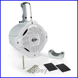 Bluetooth Marine Wakeboard Tower Speaker 6.5 Inch 1000 Watt Two Way Audio W